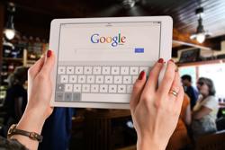 google laptop display