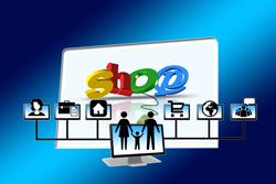 online advertising shops